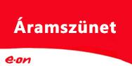 E.ON munkálatok miatti szolgáltatáskiesések április 21-28. között