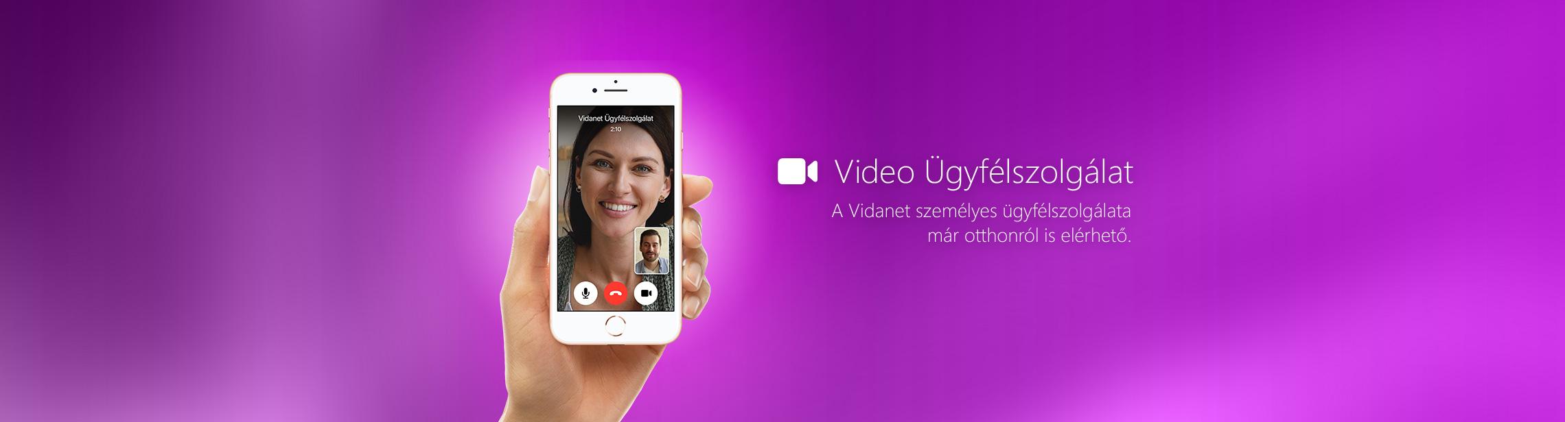 Vidanet Video Ügyfélszolgálat