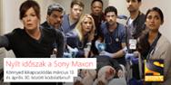 Könnyed tavaszi kikapcsolódás: március 13-tól nyílt időszak a Sony Maxon!